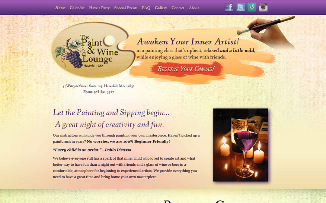 Terra Nova Creative builds Small Business Websites